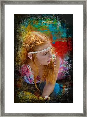 On The Rocks  Framed Print by Pamela Patch