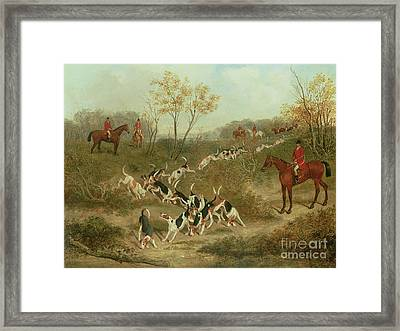 On The Scent Framed Print