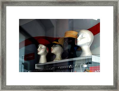 On The Shelf Framed Print by Jez C Self