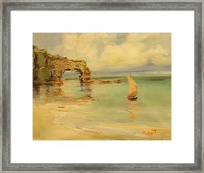 On The Shore Framed Print by Tigran Ghulyan