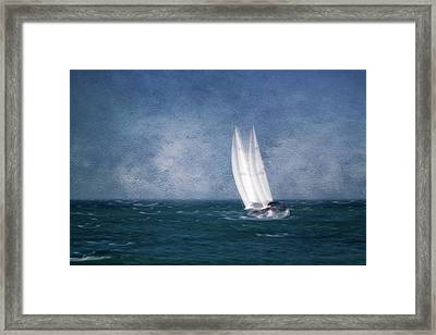 On The Sound Framed Print