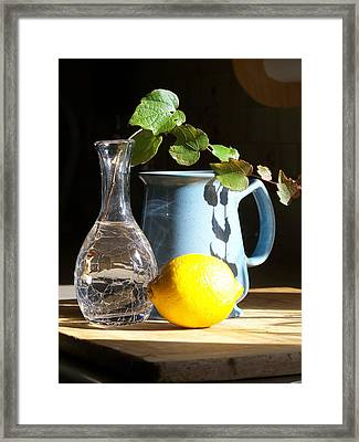 On The Table 2 - Photograph Framed Print