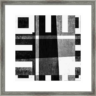 On The Tarmac Designer Series 13a04bw Framed Print