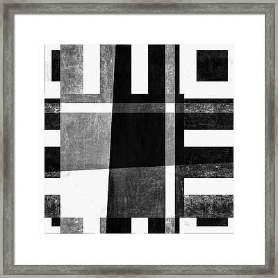 On The Tarmac Designer Series 3a14bwflip Framed Print