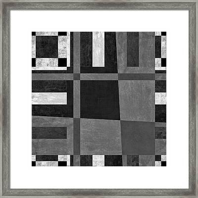 On The Tarmac Designer Series 3a16bw Framed Print