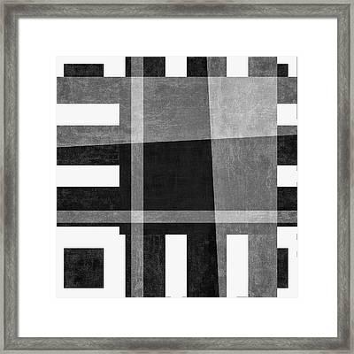 On The Tarmac Designer Series 3a18bw Framed Print