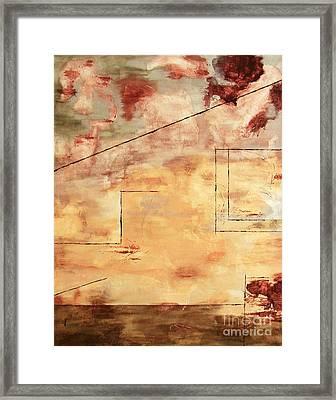 On The Verge  Framed Print by Itaya Lightbourne