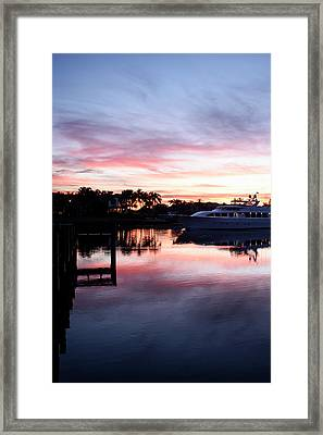 On The Waterfront Framed Print by Laura Fasulo
