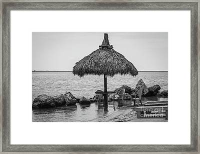 On The Waters Edge Framed Print by Rene Triay Photography