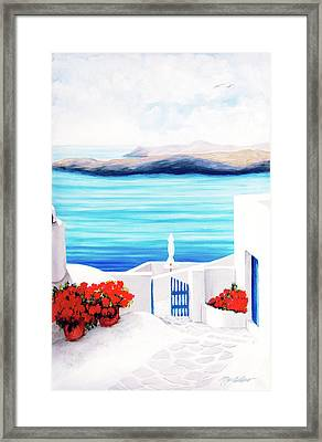 On The Way - Prints From My Original Oil Paintngs Framed Print