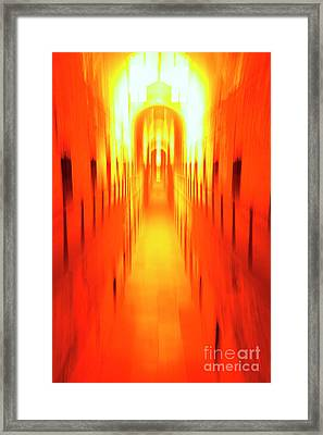 On The Way To Death Row Framed Print