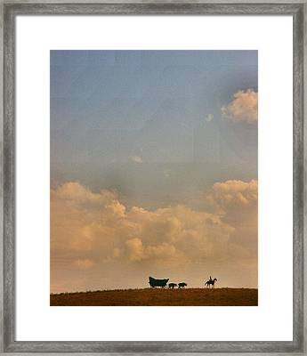 On The Way To Forever Framed Print by Lynne and Don Wright