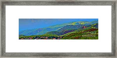 On The Way To Malibu Framed Print by Xn Tyler