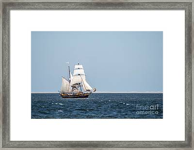on the way to Texel Framed Print