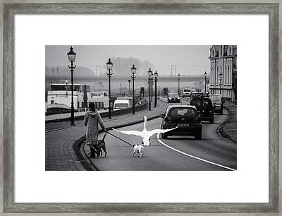 On The Wrong Side Of The Road Framed Print by Gerard Jonkman