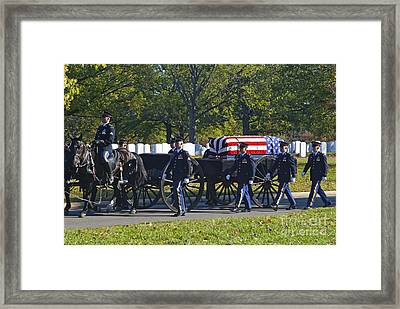 On Their Way To Rest Framed Print