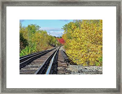 Framed Print featuring the photograph On To Fall by Glenn Gordon