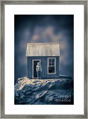 On Top Of Old Smokey Framed Print by Edward Fielding