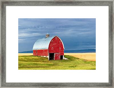 On Trout Creek Road Framed Print