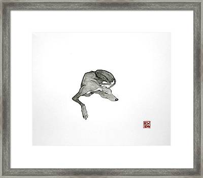 On Watch Framed Print by Richard Williamson