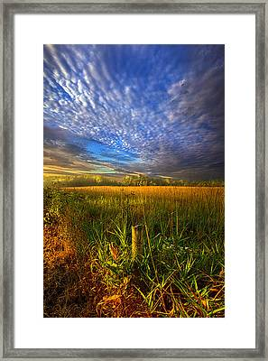 On Your Way Back Home Framed Print by Phil Koch