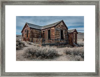 Once A Home Framed Print by Ralph Vazquez