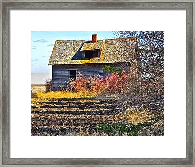 Once A Lovely Home Framed Print