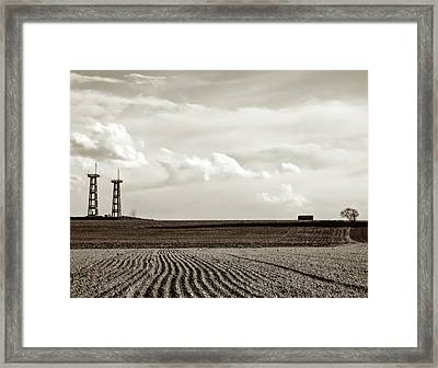 Once At War Framed Print by Wim Lanclus