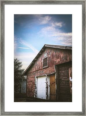 Framed Print featuring the photograph Once Industrial - Series 1 by Trish Mistric