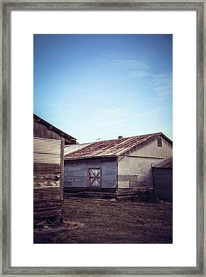 Framed Print featuring the photograph Once Industrial - Series 2 by Trish Mistric