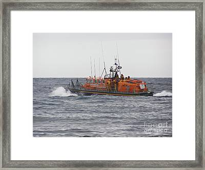 Once More Unto The Breach Framed Print by Terri Waters