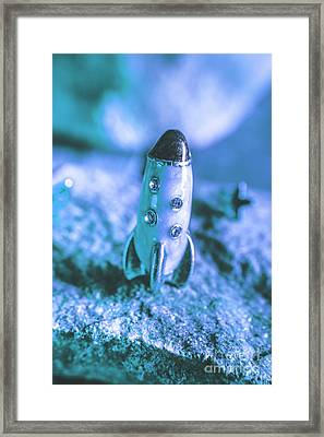 Once On A Blue Moon Framed Print