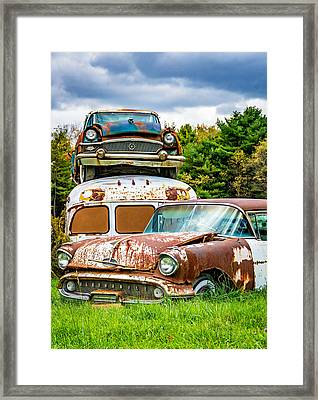 Once Shiny Dreams Framed Print
