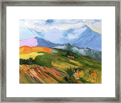 Once There Were Green Fields Framed Print