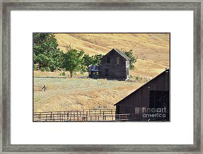 Once Upon A Homestead Framed Print