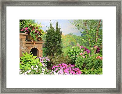 Once Upon A Spring Time Framed Print