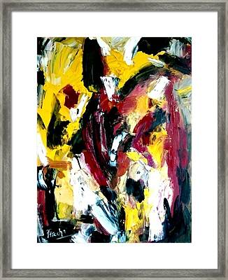 Once Upon A Summer Time Framed Print by Fareeha Khawaja