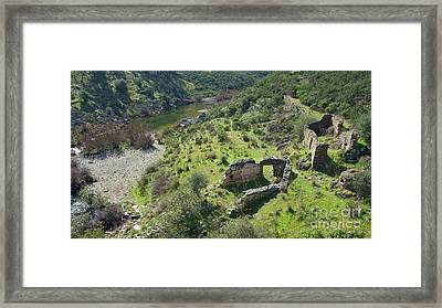 Once Upon A Time A Creek Home Framed Print by Angelo DeVal