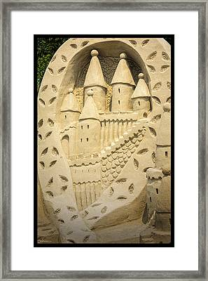 Once Upon A Time Blue Water Sandfest Framed Print