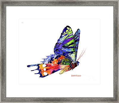 Once Upon A Time Framed Print by Carla Palmer