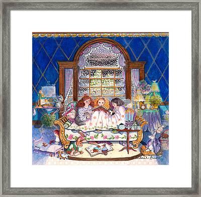 Once Upon A Time... Framed Print by Deborah Burow