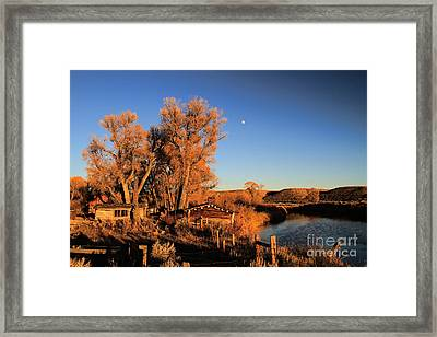Framed Print featuring the photograph Once Upon A Time by Edward R Wisell