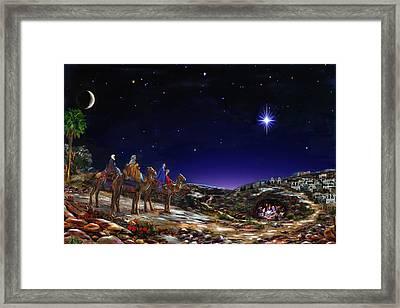 Once Upon A Time  - Christmas Time Framed Print
