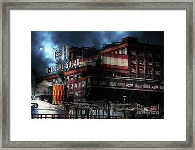 Once Upon A Time In The Sleepy Town Of Crockett California . 5d16760 Framed Print by Wingsdomain Art and Photography