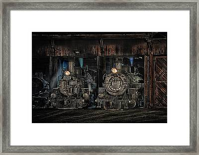 Framed Print featuring the photograph Once Upon A Time by Jeffrey Jensen