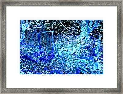 Once Upon A Time Framed Print by Loko Suederdiek
