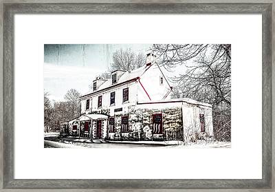 Vennell Tavern House 1795 Framed Print