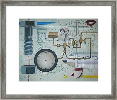 Once Upon A Time Framed Print by Robert Smith