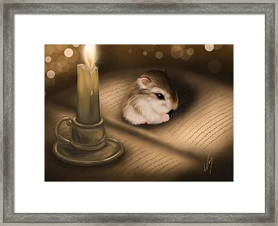 Once Upon A Time... Framed Print by Veronica Minozzi