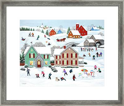 Once Upon A Winter Framed Print by Wilfrido Limvalencia